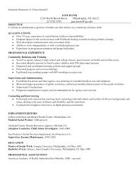 Munity Service Cover Letter Examples Images Cover Letter Sample
