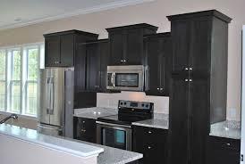 dark stained kitchen cabinets. Unique Kitchen Black Stained Kitchen Cabinets For Dark N