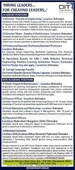Jobs In Dit University Vacancies In Dit University Opportunities
