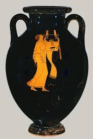 best images about ancient greek music players terracotta amphora jar