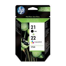 Набор <b>картриджей HP 21/22 SD367AE</b> черный и цветной ...