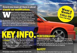 top 5 classic car modifications that affect insurance
