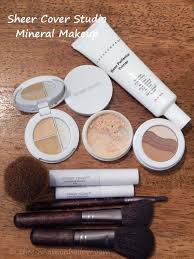sheer cover studio mineral makeup application flawlessfinish sheercover you