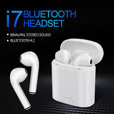 <b>Newest i7s TWS Bluetooth</b> Earphones Ture Wireless Headset ...