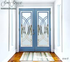 etched glass entry door designs custom glass doors etched contemporary arcs frosted glass front door designs