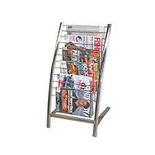 Single Magazine Display Stand Stunning Brochure Racks Canada Decoration A32 Brochure Holder Single Magazine