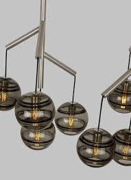 tech lighting 700sdnmpr1 led9 sedona 4 light 24 1 2 wide led chandelier with gl