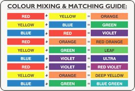 Primary Color Mixing Chart Pdf Bedowntowndaytona Com