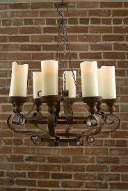 regency ceiling fan light kit elegant rustic chandeliers with battery powered led candles no power