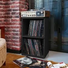 Bellwood Vinyl Record Storage Cube Unit Bookcase