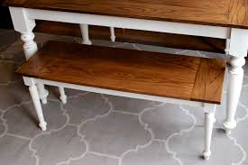 Room table and how to make benchwright dining table workbench tutorial. Diy Solid Oak Farmhouse Bench Free Easy Plans