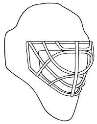 Small Picture Design your own goalie mask Chicago Blackhawks coloring pages