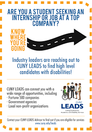 leads central office of student affairs cosa cuny leads poster pic