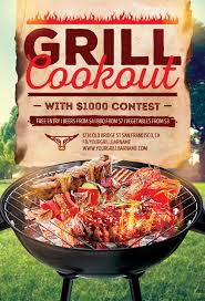 Barbecue Flyers Bbq Grill Event Flyer Template