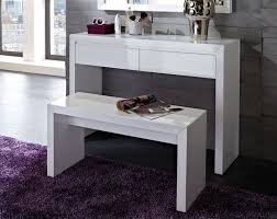 modern white console table design