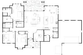 one level home plan with porches new one level open floor house plans for one level