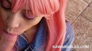 Kawaii Girl Public Blowjob