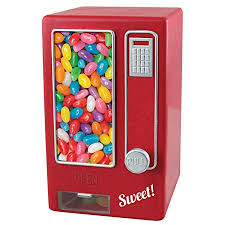 Jelly Bean Vending Machine Beauteous ASAB Children's Red Retro Style Sweet Dispenser Vending Machine