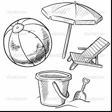 Small Picture Extraordinary beach umbrella coloring page with beach ball