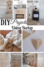 If you are passionate about burlap DIY projects, here's a of easy burlap  projects collection