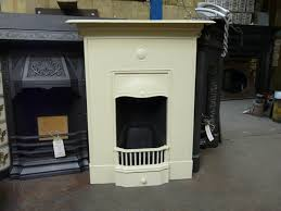 edwardian bedroom fireplace painted antique white