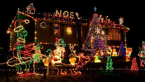 Benoni is all lit up for Christmas