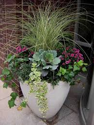 DIY Outdoor Decor For Winter  Christmas Urns Outdoor Christmas Container Garden Ideas For Winter