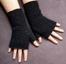 Free Fingerless Gloves Knitting Pattern Stunning Black Lace Fingerless Gloves Knitting Pattern AllFreeKnitting