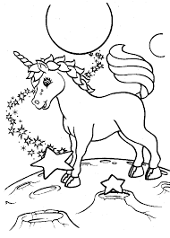Unicorn Coloring Pages Throughout Rainbow And - creativemove.me
