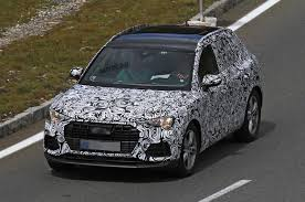 audi q 3 2018. plain 2018 2018 audi q3  new pics of future bmw x1 rival inside audi q 3 u