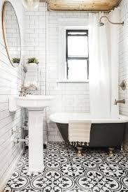 Bathroom Tile Black White Tiles Bathroom Interior Design Ideas