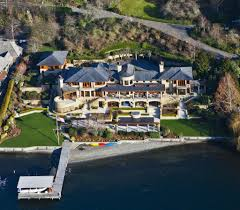Stunning Residence With Private Beachfront On Lake Washington - Bill gates interior house