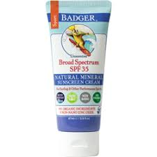 <b>Sport Sunscreen</b> - Water Resistant <b>SPF</b> 35 I Badger Balm