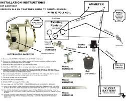 tractor starter wiring diagram ford 5000 tractor wiring diagram starter motor wiring diagram at 12 Volt Starter Wiring Diagram