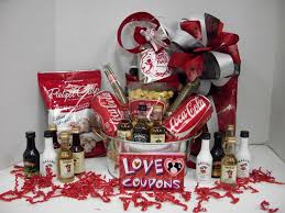 gift basket man by