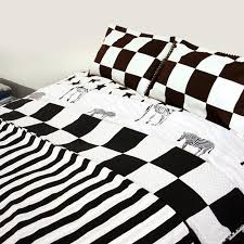 whole black white bedding sets super king printing duvet quilt cover set bedroom bedding contains quilt cover and pillowcase zy38 duvet cover full size