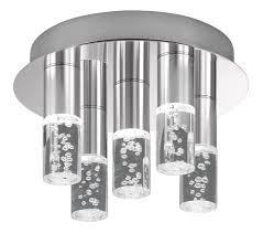 led bubble effect flush ceiling light
