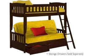 futon sofa bunk bed. Cinnamon Espresso Futon Bunk Bed Sofa Hybrid - Optional Drawers Futon Sofa Bunk Bed O