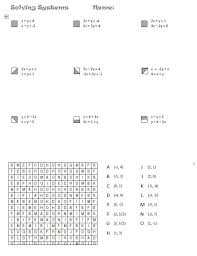 free math worksheets solving systems of equations them and try to solve