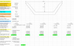 Open Channel Design Design For Open Channel Lining Spreadsheet