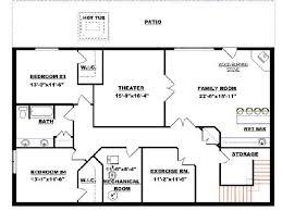 house plans with walkout basements. Bungalow With Walkout Basement Plan 2011545 Floor House Plans Basements