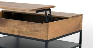 lomond lift top coffee table with storage mango wood and e2 80 93 ezol decor winning