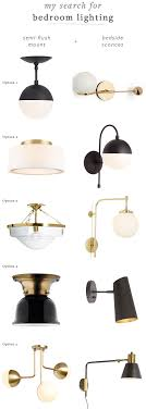 Bedroom Semi Flush Ceiling Lights Jojotastic Bedroom Makeover Shopping For Bedside