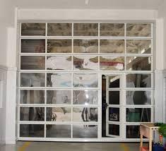 glass walls commercial garage doors