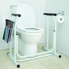 bathroom safety rail. toilet support rail bathroom safety