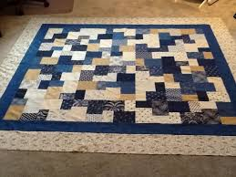 25 best Quilts - Double Slice Layer Cake images on Pinterest ... & Double Slice layer cake using Indigo Crossing fabric Adamdwight.com