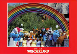 Construction of the mountain alone involved a dozen local companies under cincinnati. Take A Trip Back In Time With These Old Canada S Wonderland Postcards