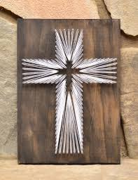 cross string art christian wall art mother s day gift religious wall art christian gifts baptismal gift farmhouse decor on religious wall art crosses with cross string art christian wall art mother s day gift