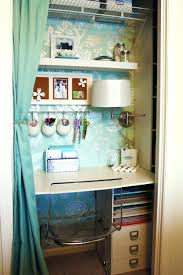 office in a closet ideas. Awesome Closet Office Nook Ideas Simple Diy Desk In A