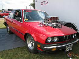BMW drag car 509 inch Big Block Chevy 10-71 Blown and injected on ...